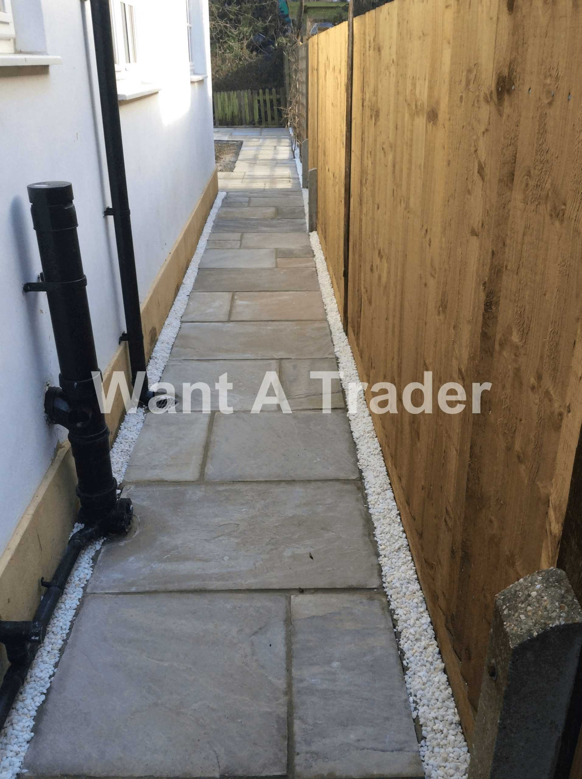 Garden Path and Pathway Design and Installation Contractor Hayes UB3