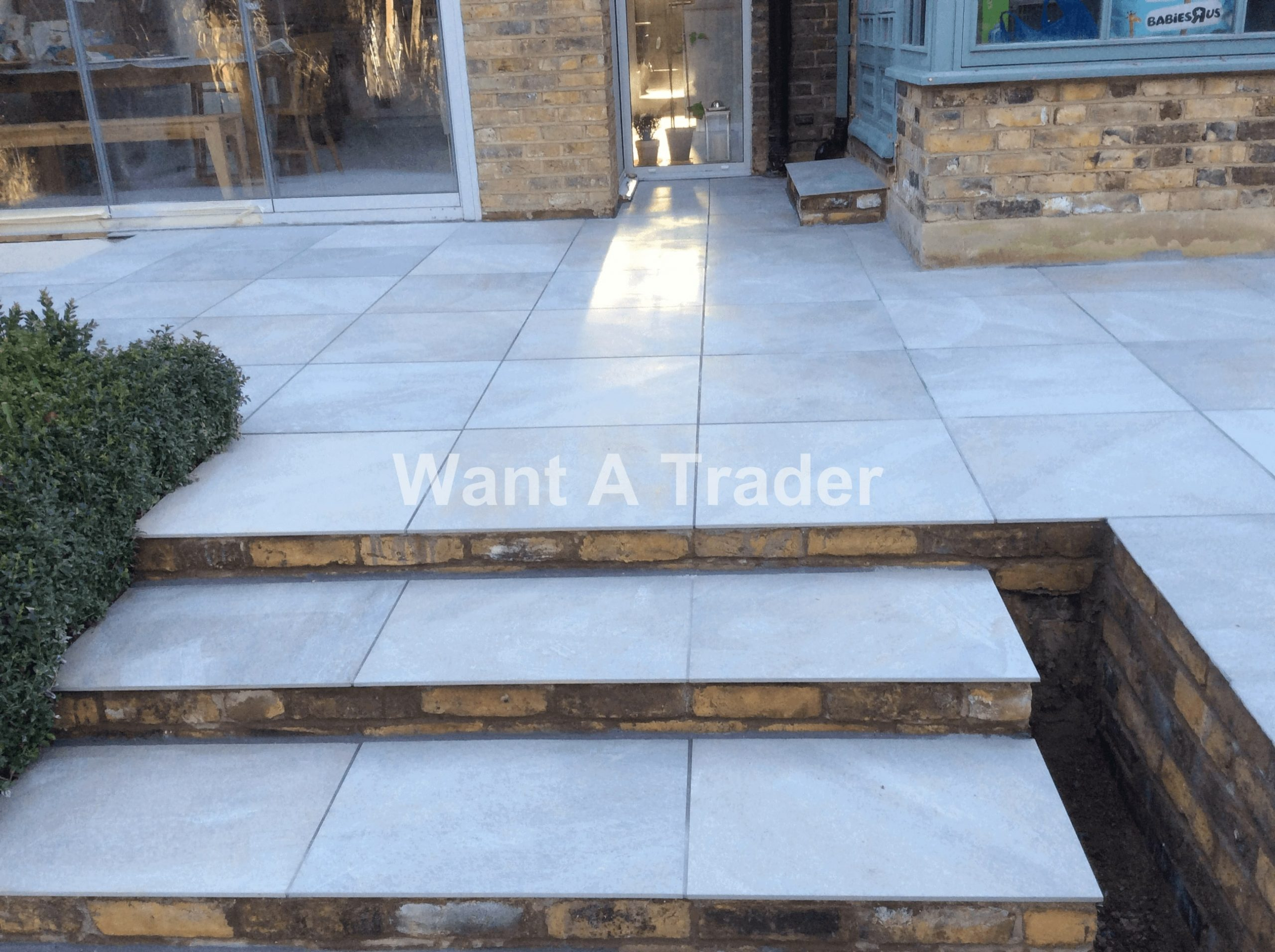 Garden Step Design and Installation Contractor Hayes UB3